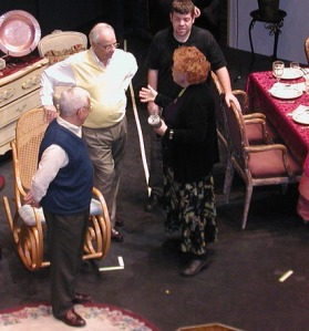 Artistic Director Joyce Kuhn of LV's drama faculty (right) will direct A Flea in Her Ear.