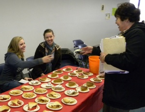 Campus Life and Leadership hosted Pie Day at Longview on Nov. 23 (Jason Welch/The Current).